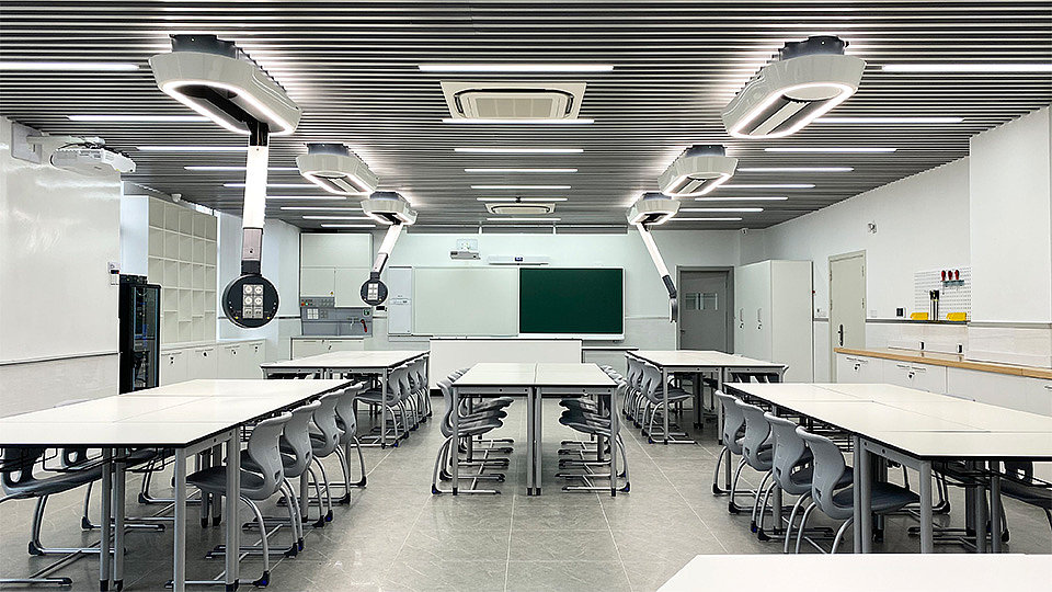 Learning spaces for the minds of tomorrow